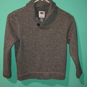Old navy boys grey sweater size 6/7